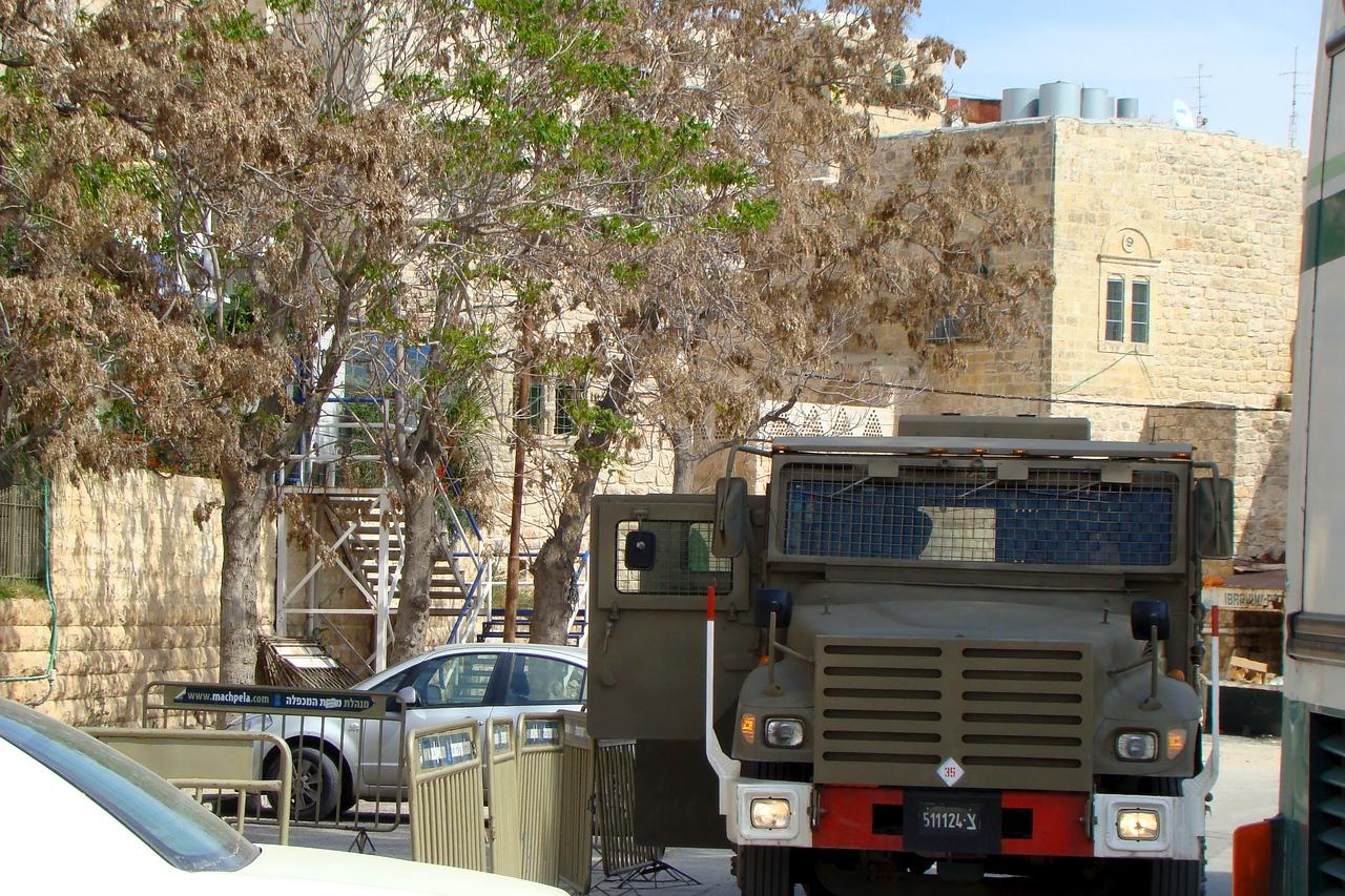 Army Presence Hebron
