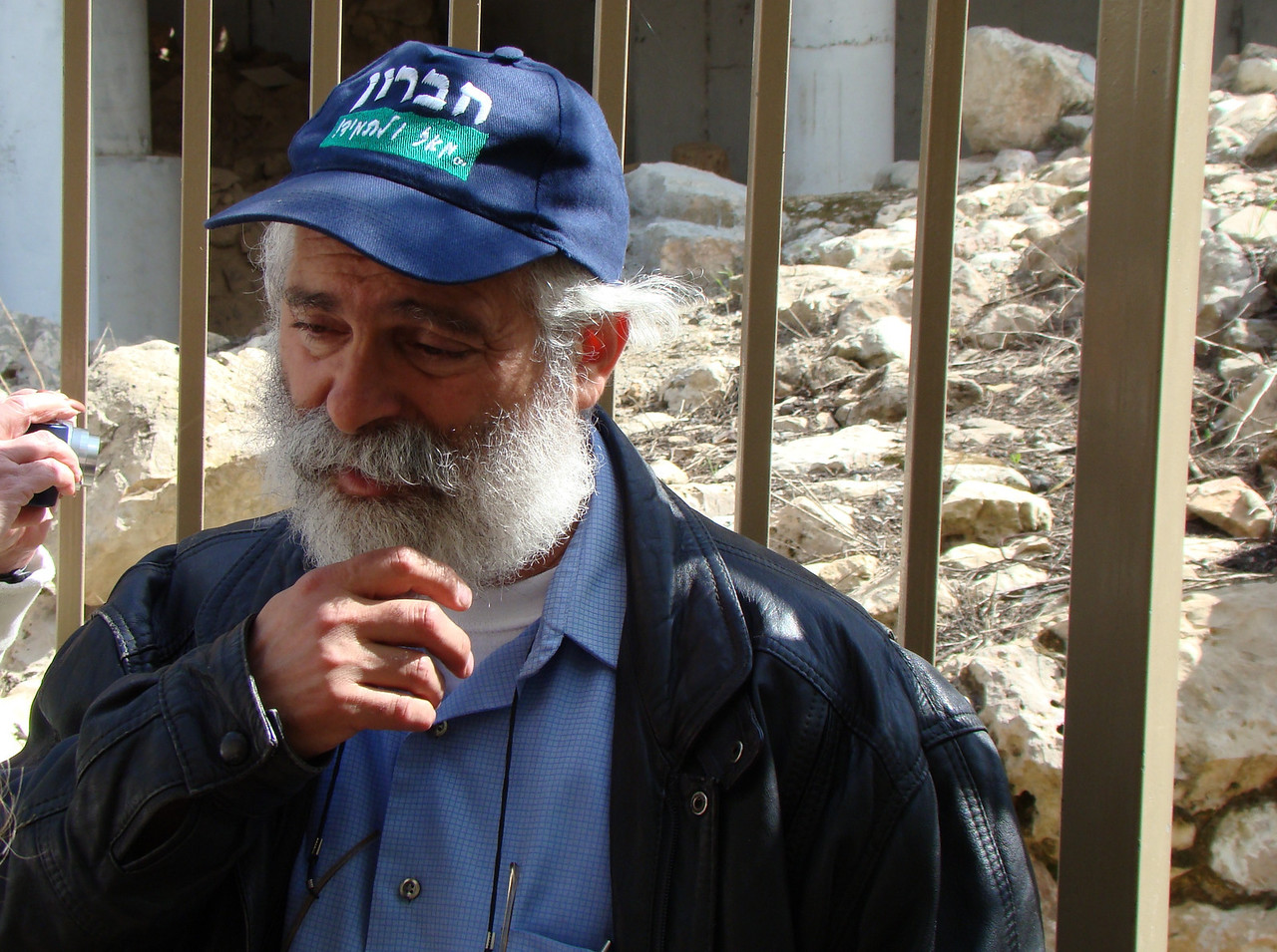David Wilder, Hebron Community Spokesman, Our Guide Through Hebron