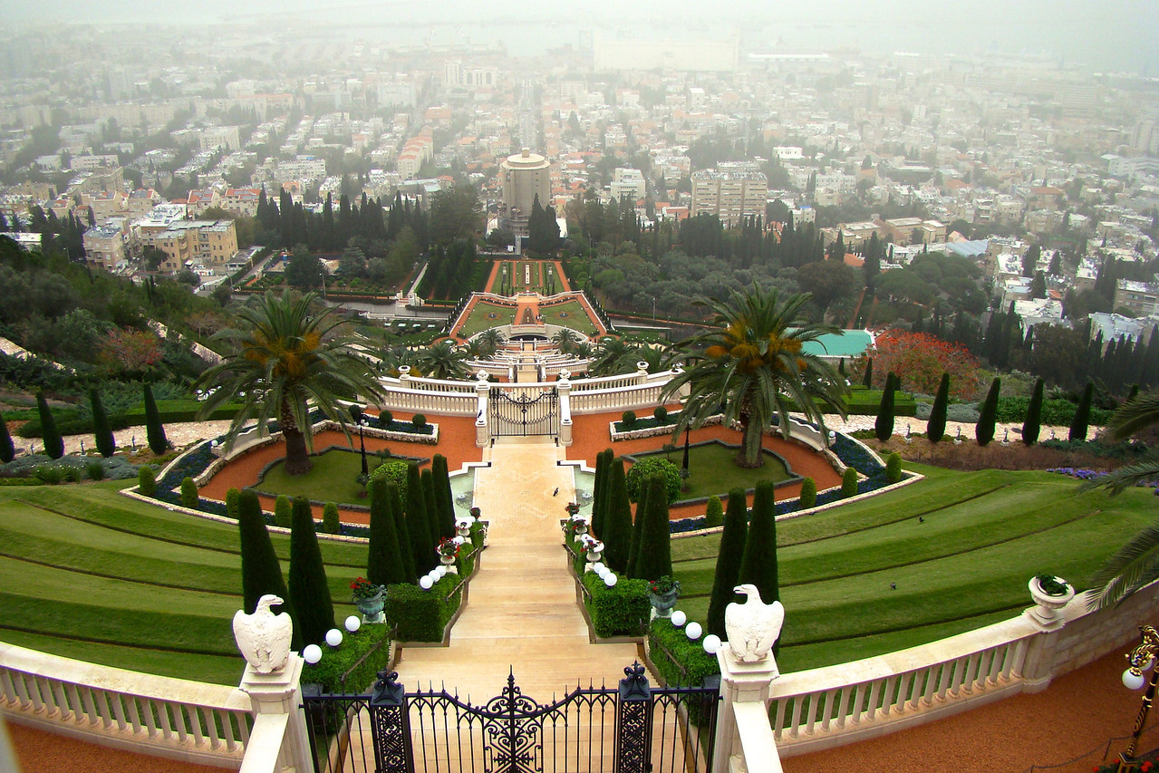 Haifa-B'hai Gardens 2