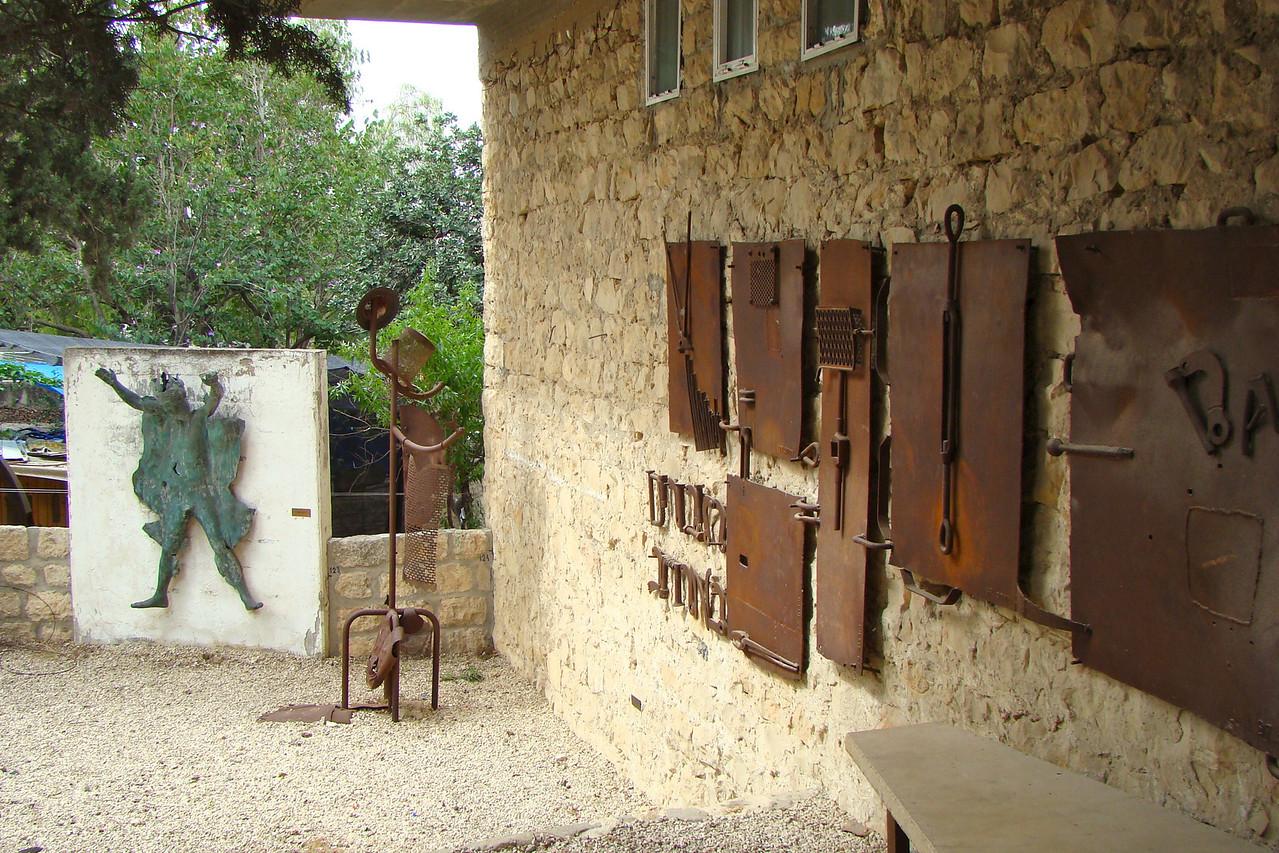 Ein Hod-Outside Galleries