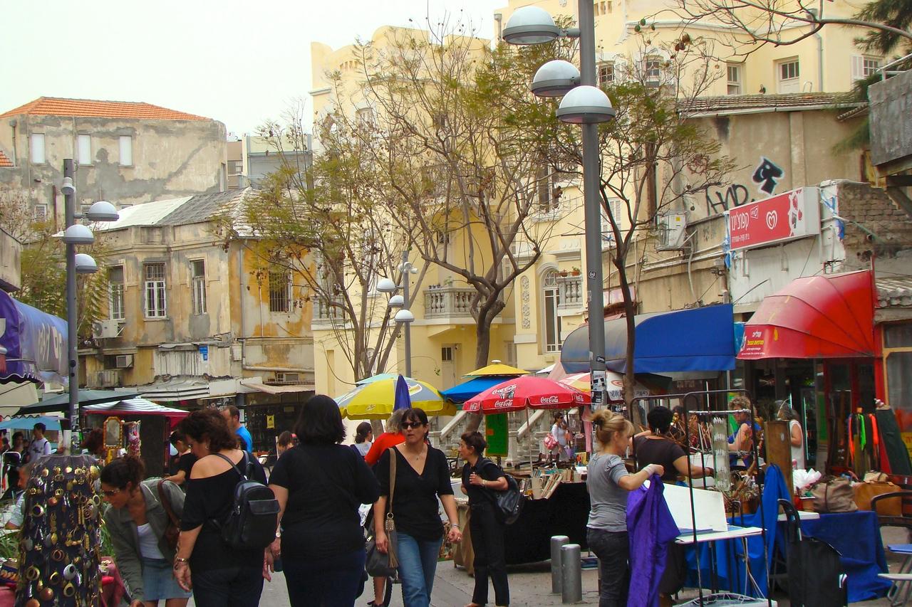 Nachalat Binyamin-Artisit Market