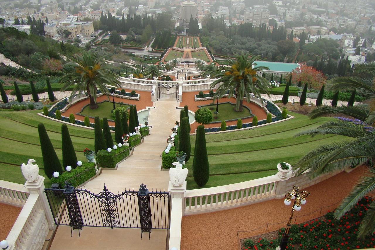 Haifa-B'hai Gardens 1