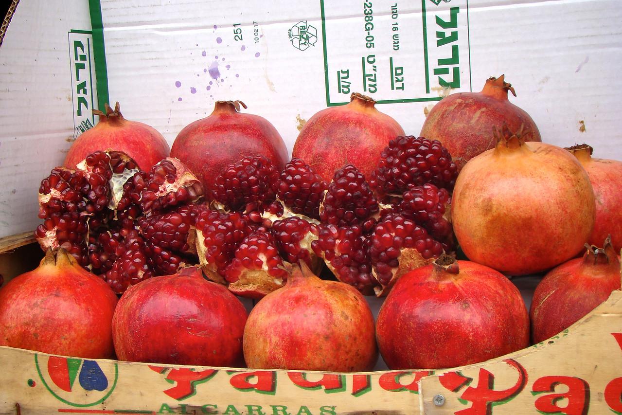 Carmel Market-Pommegranet