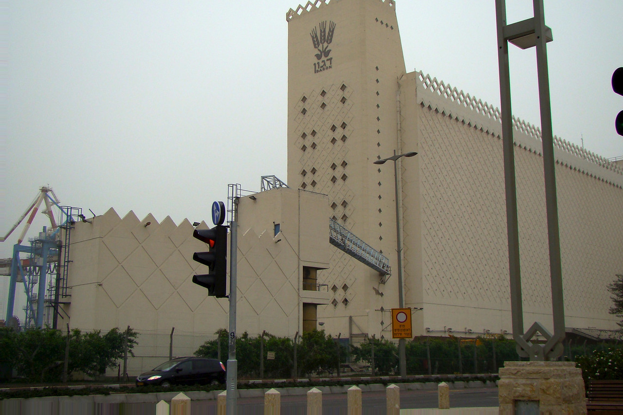 Haifa-Wheat Storage Plant