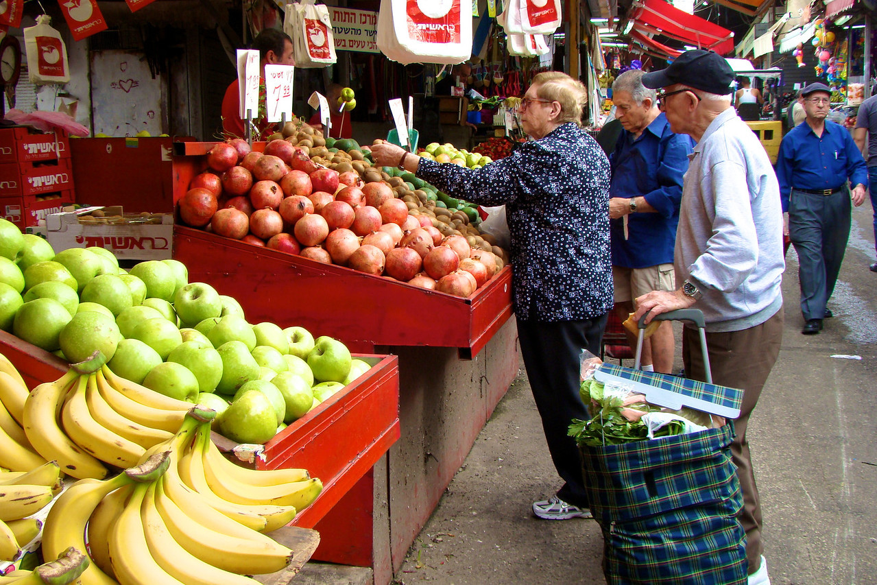 Carmel Market-Locals
