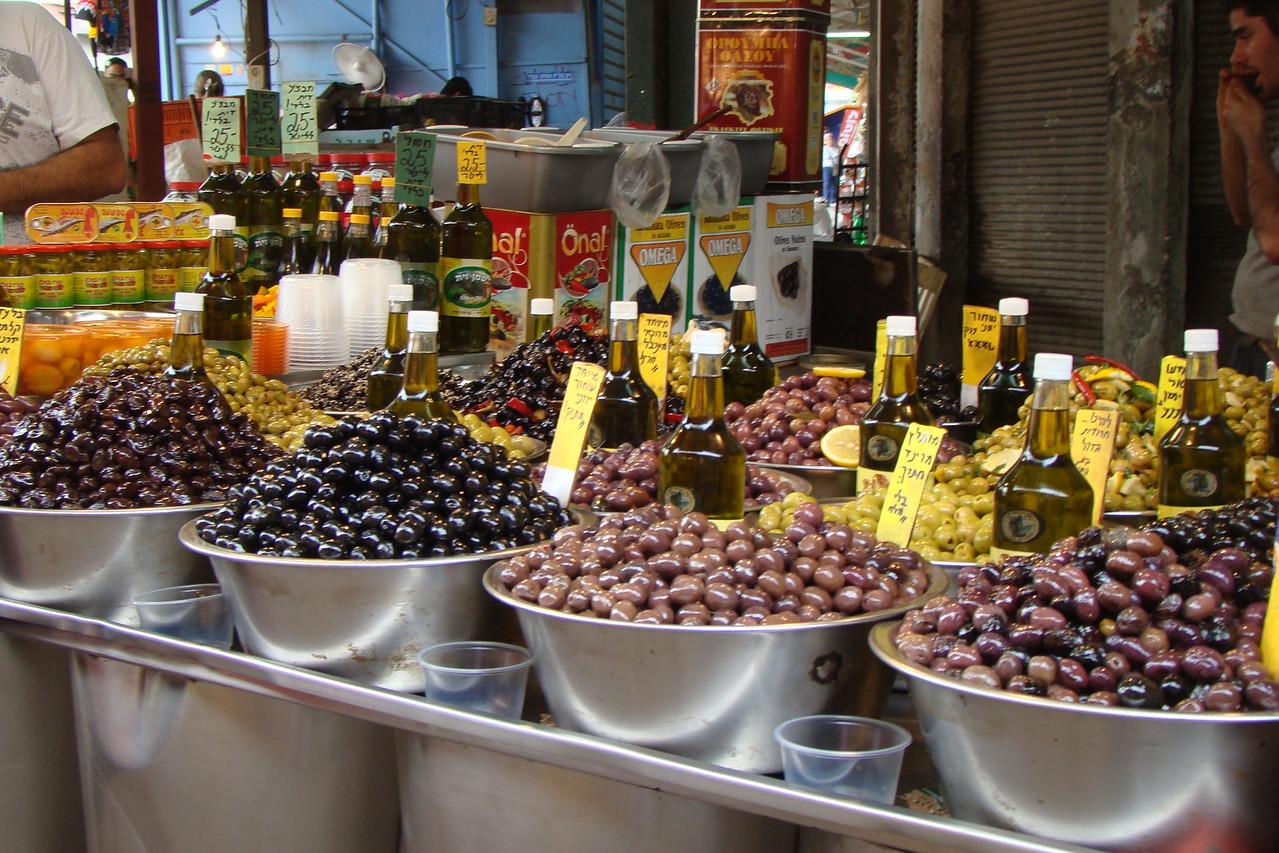 Carmel Market-Olives