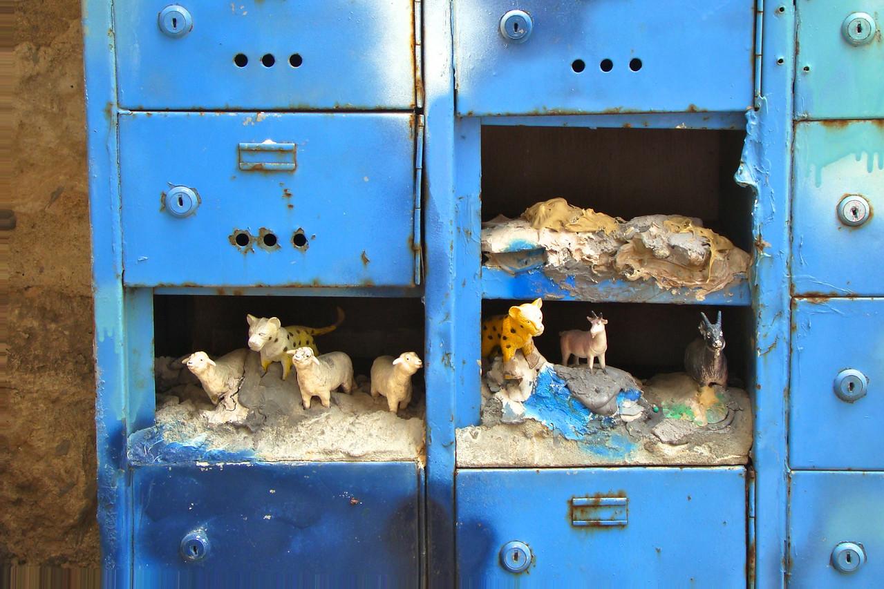 Ein Hod-Old Mailboxes