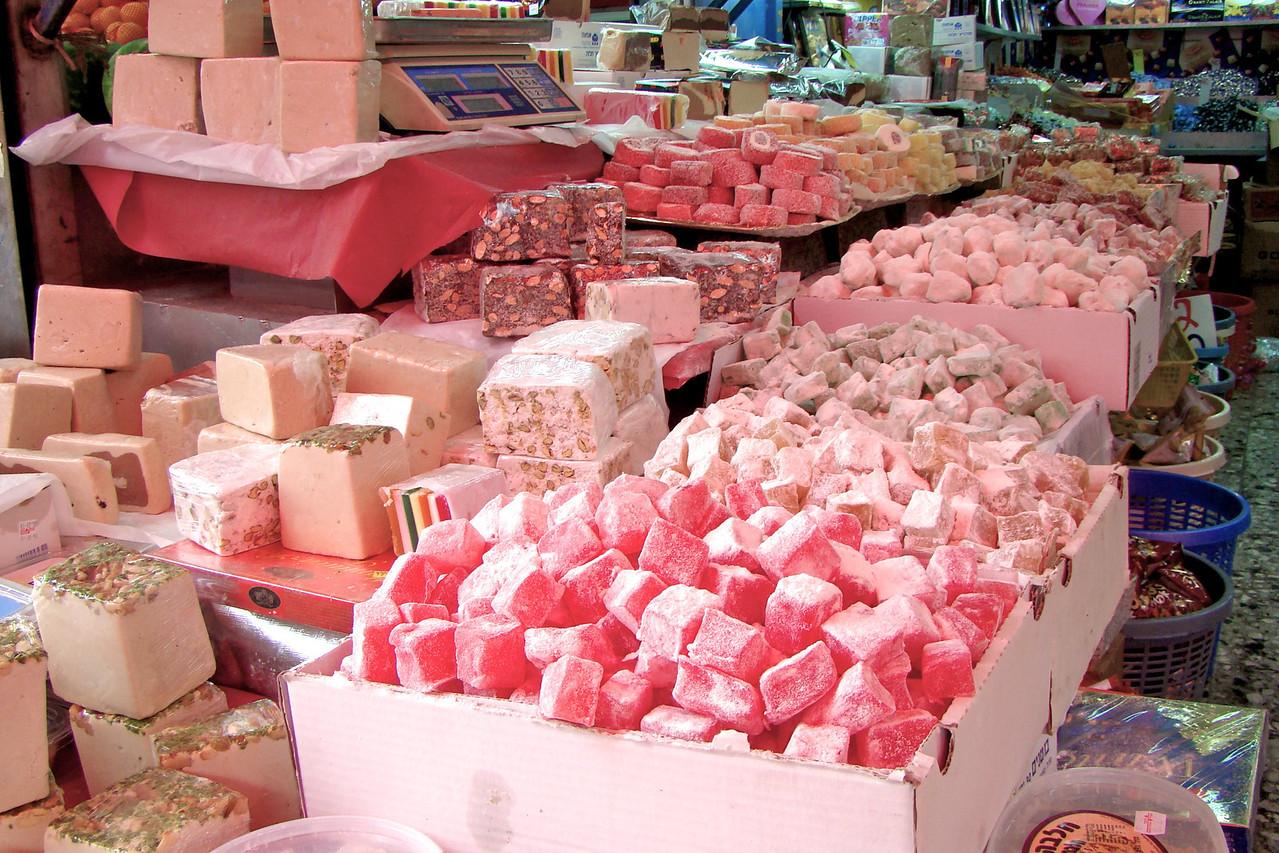 Carmel Market-Sweets (Halavai)