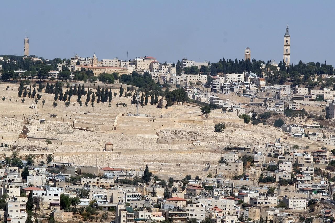 More of Jerusalem from Goldman Promenade.