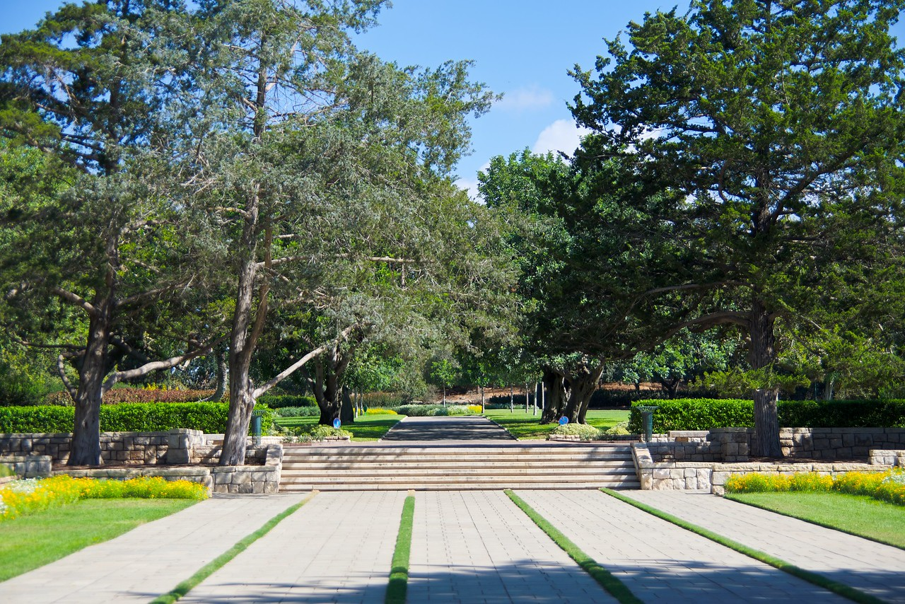 Ramat Hanadiv is most famous for the beautifully maintained formal gardens.