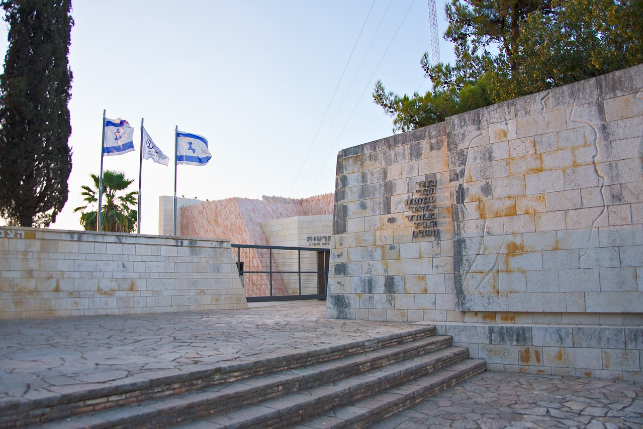 Metzudat Koach Memorial commemorates 28 Israeli soldiers who died during the 1948 conquest of the strategically important fort.