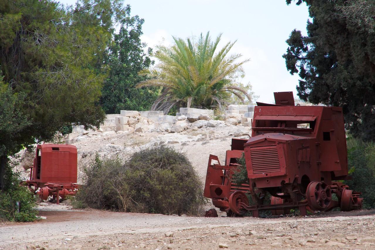 Yechiam convoy memorial.
