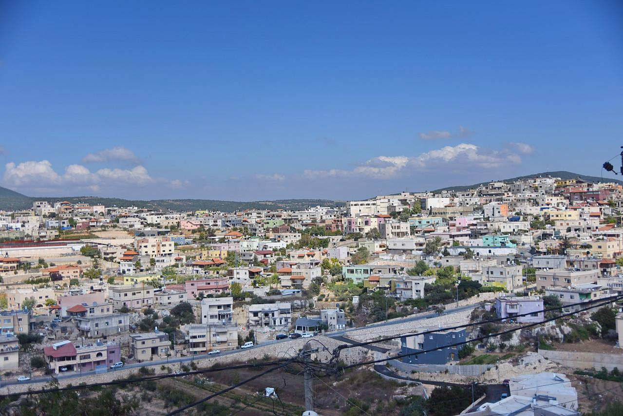 View of Beit Jan on Mt. Meron.