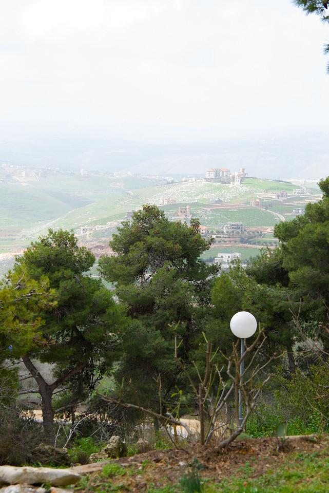 View of Lebanon from Rachel Rabin Yaakov's home