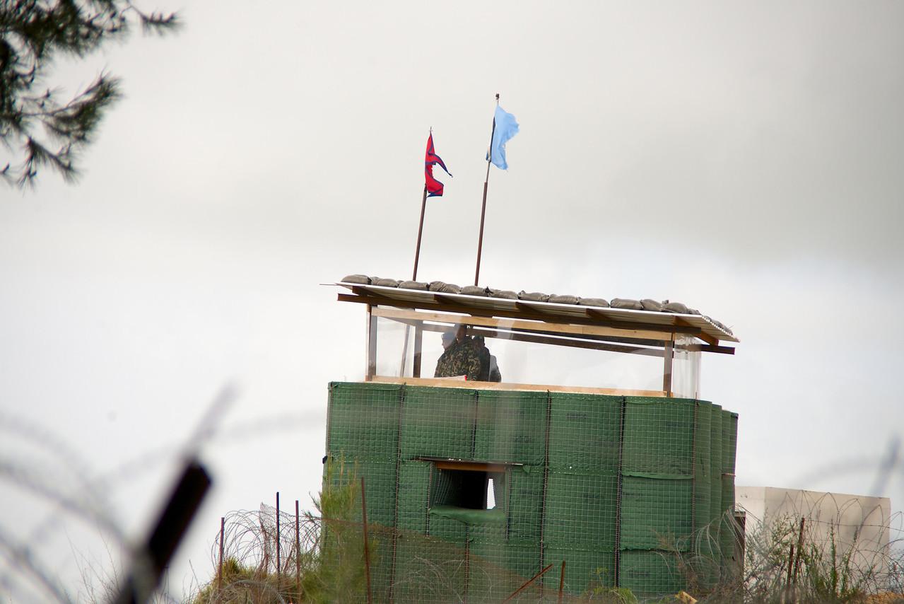 UN Post on Lebanese Border