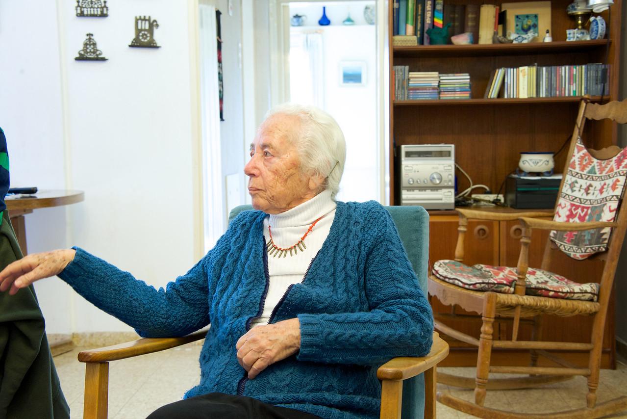 Rachel Rabin Yaakov… her likeness to her brother, Yitzak Rabin was uncanny