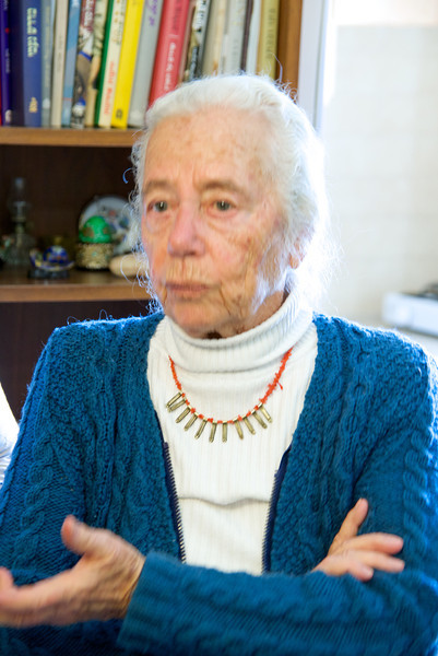 At close to 90 Rachel Rabin Yaakov is spry, drives, and has a very sharp mind with a great sense of humor