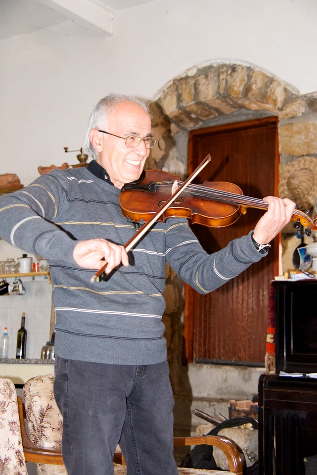 George Played The Violin (self Taught) at age eleven… later classically trained