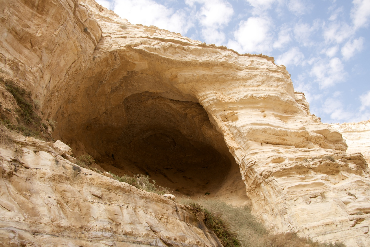 Cave Made by The Wind