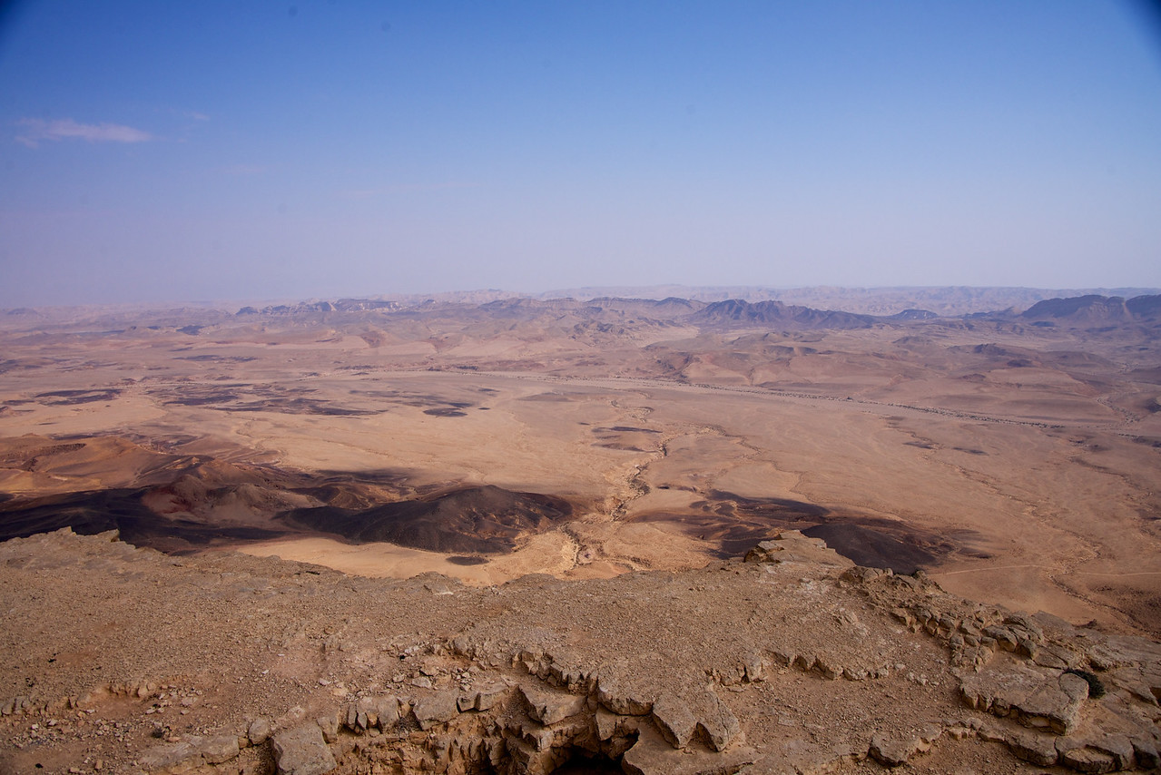 View of Ramon Crater from Visiters' Center