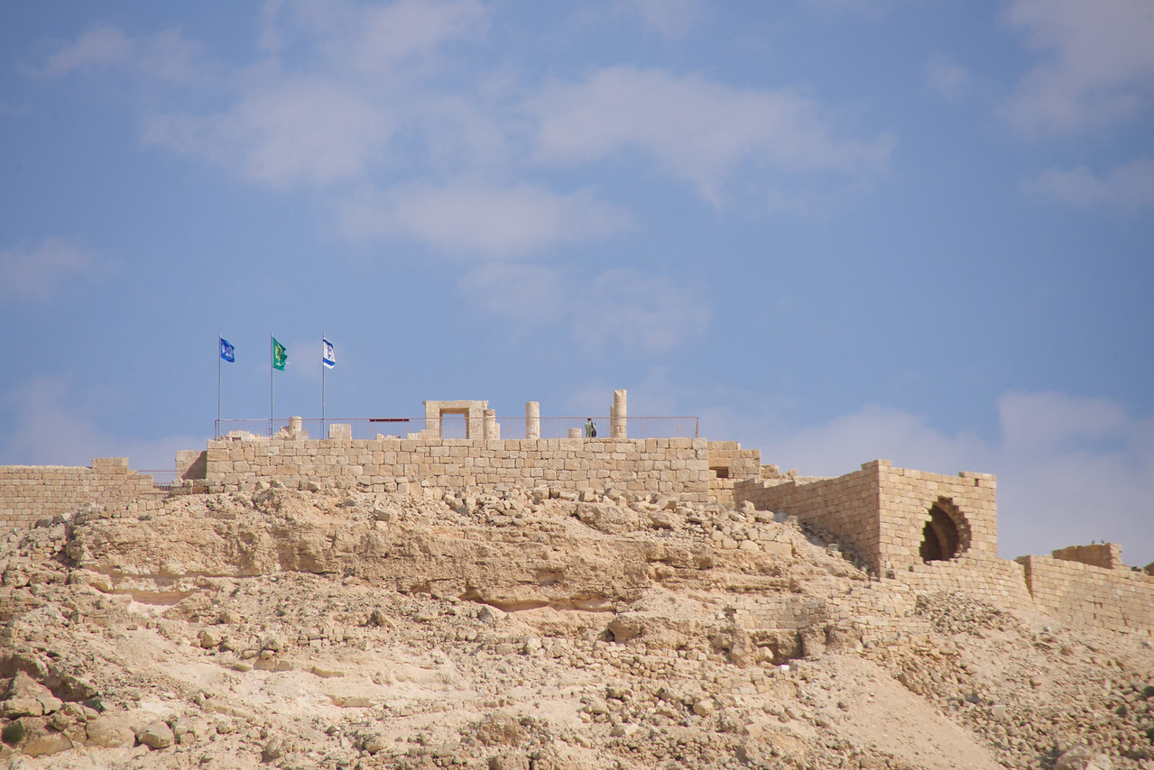 Ruins of Avdat from The Road