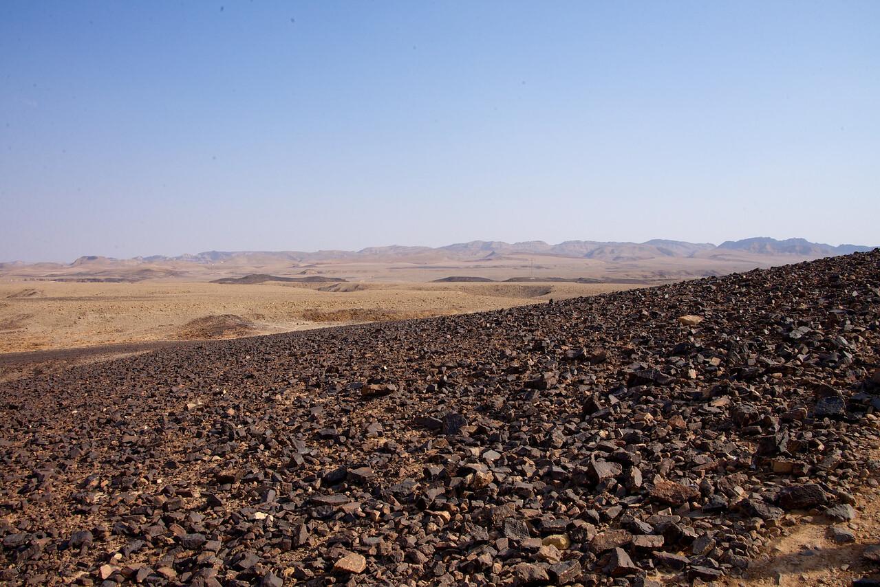Hillside of Carpentry in Basin of Ramon Crater