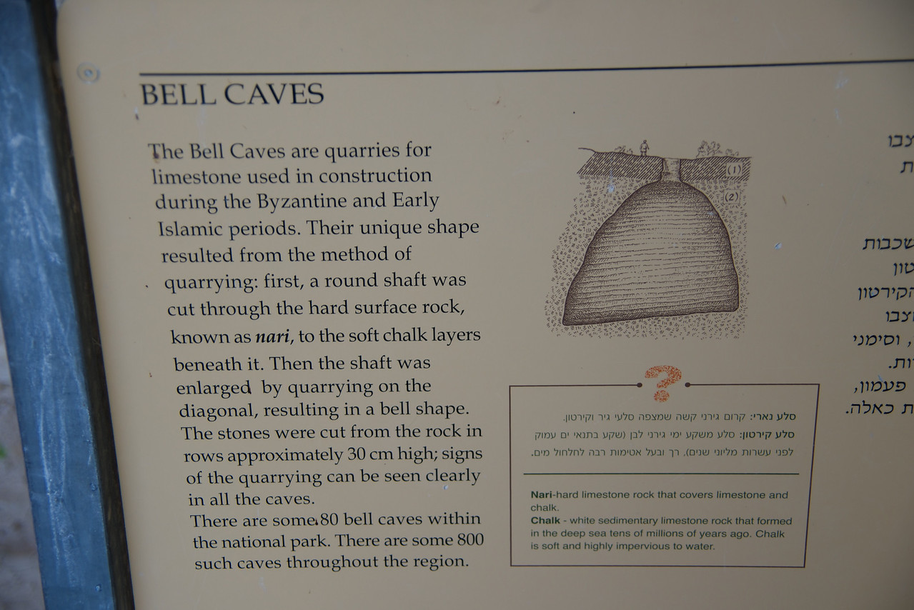 Explanation of Bell Caves
