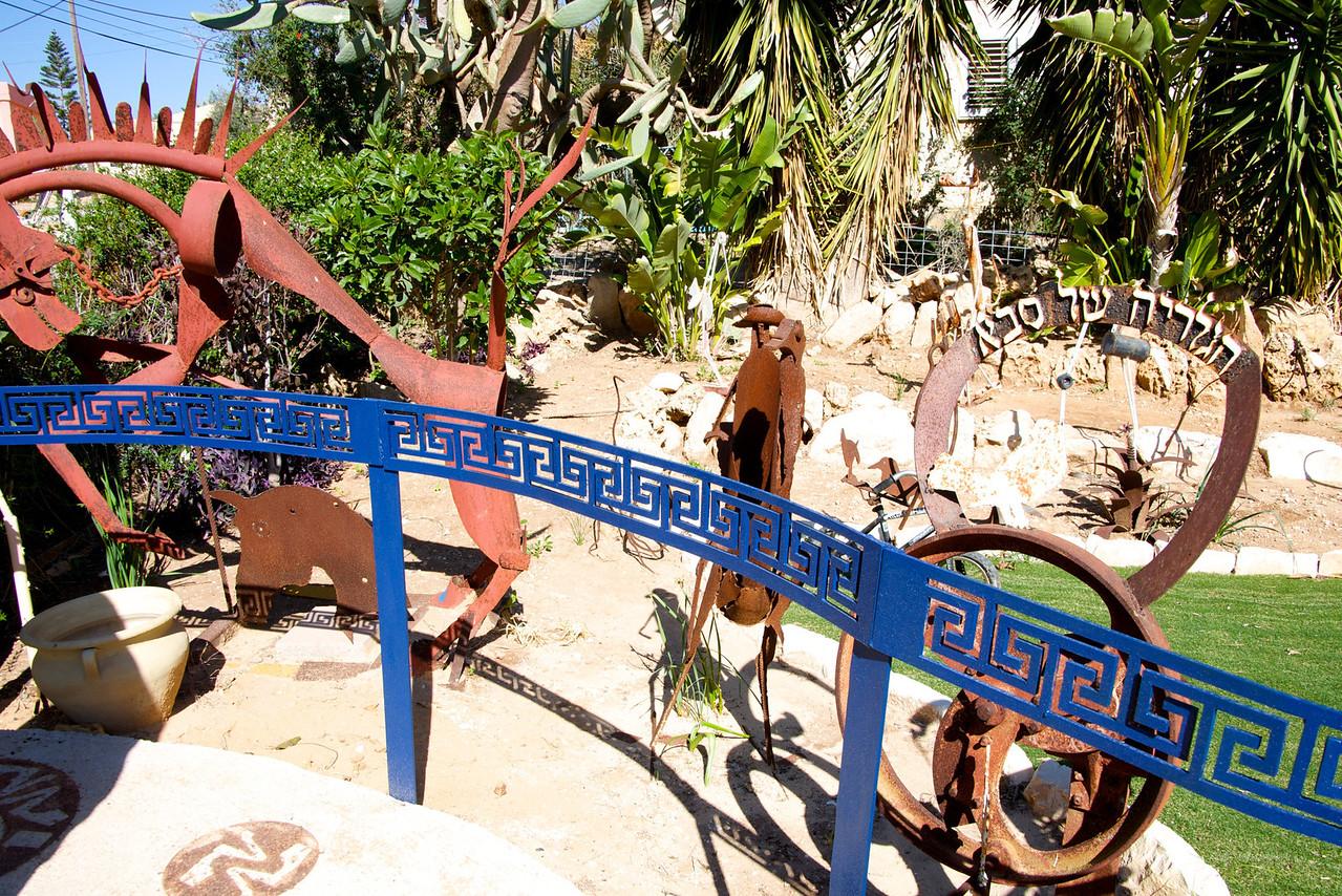 Entrance to Grandfather's Garden
