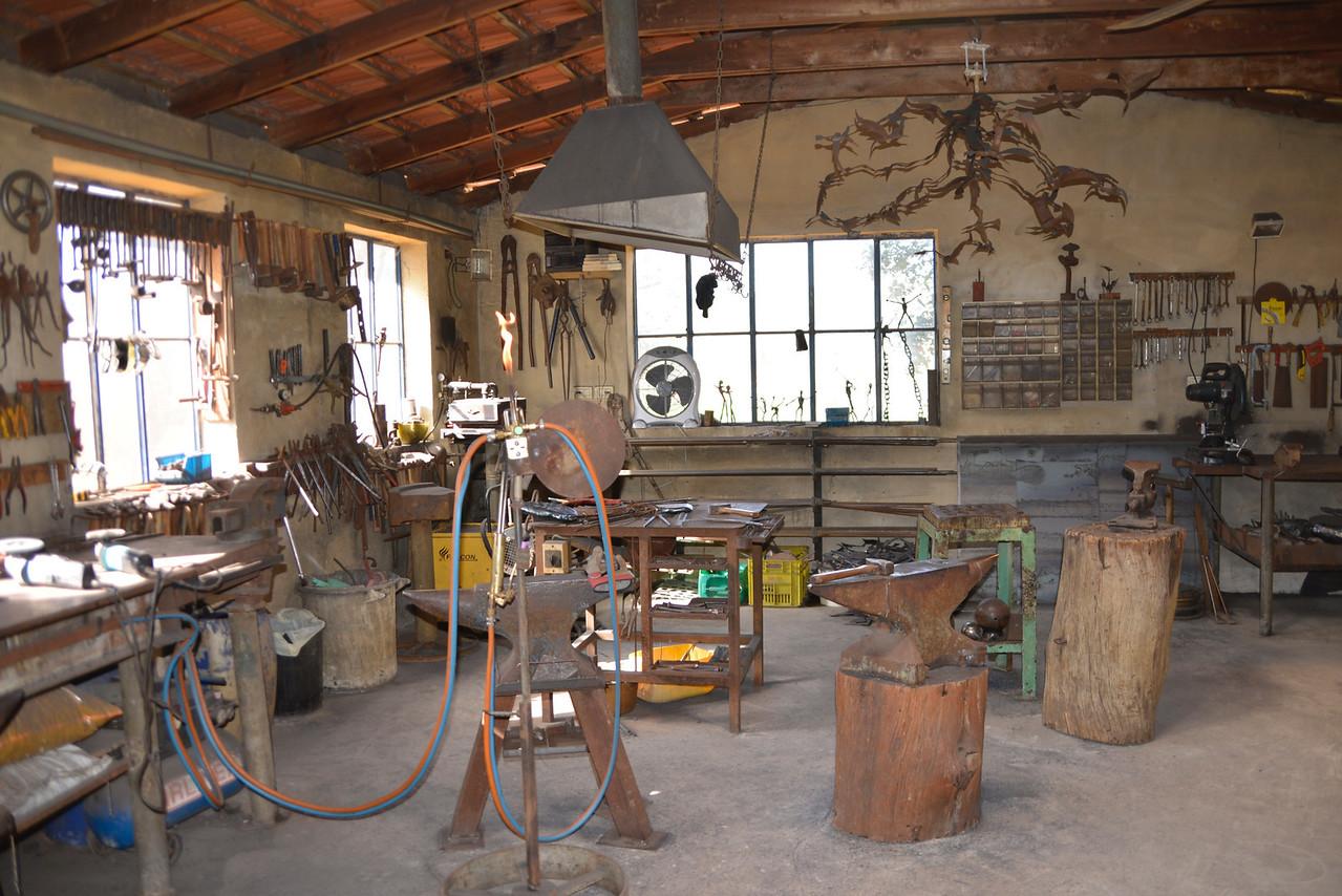 Studio of Moshe Katz, Metal Sculpturer