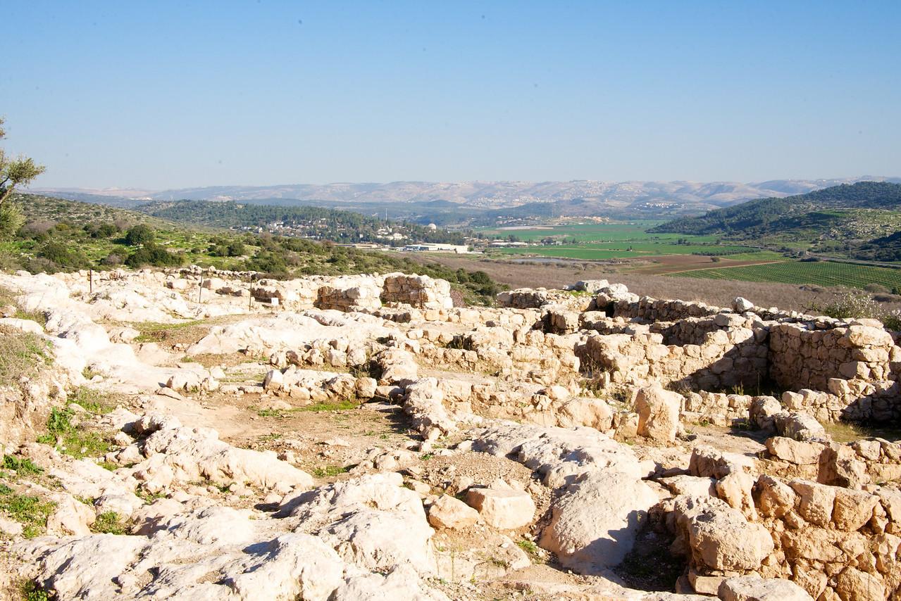 Kayafah Settlement Overlooking Valley of Elah (Where David fought Goliath)