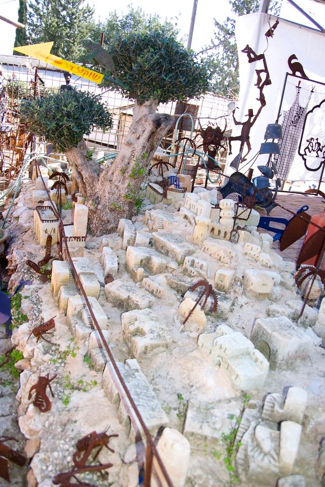 Model of Kurdish Village The Sculpturer Was From