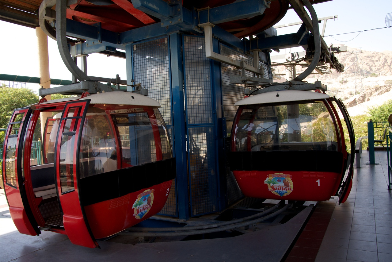 Cable Car to The Mount of Temptation