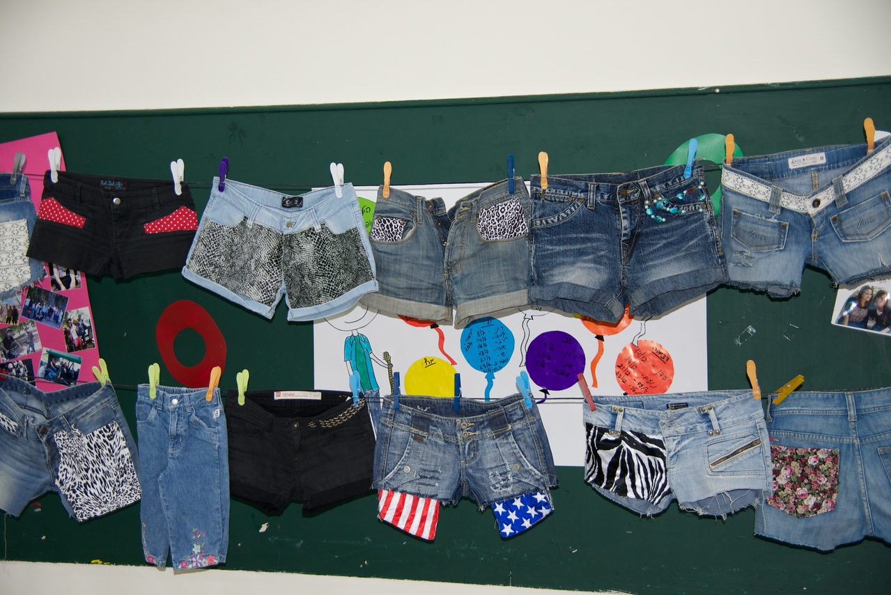Designer Jeans Created by Members of Youth Advancement Girls Group