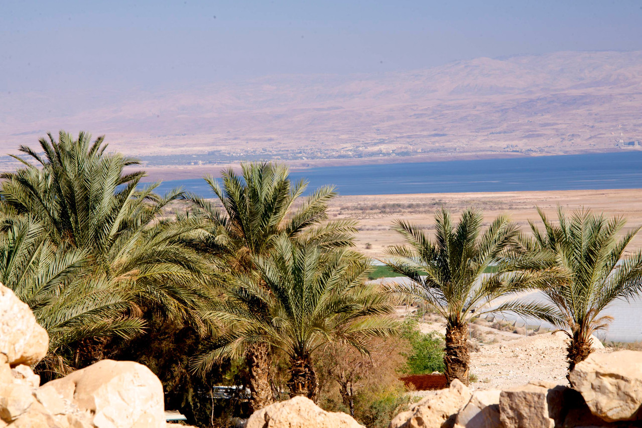 View of Dead Sea From Qumran