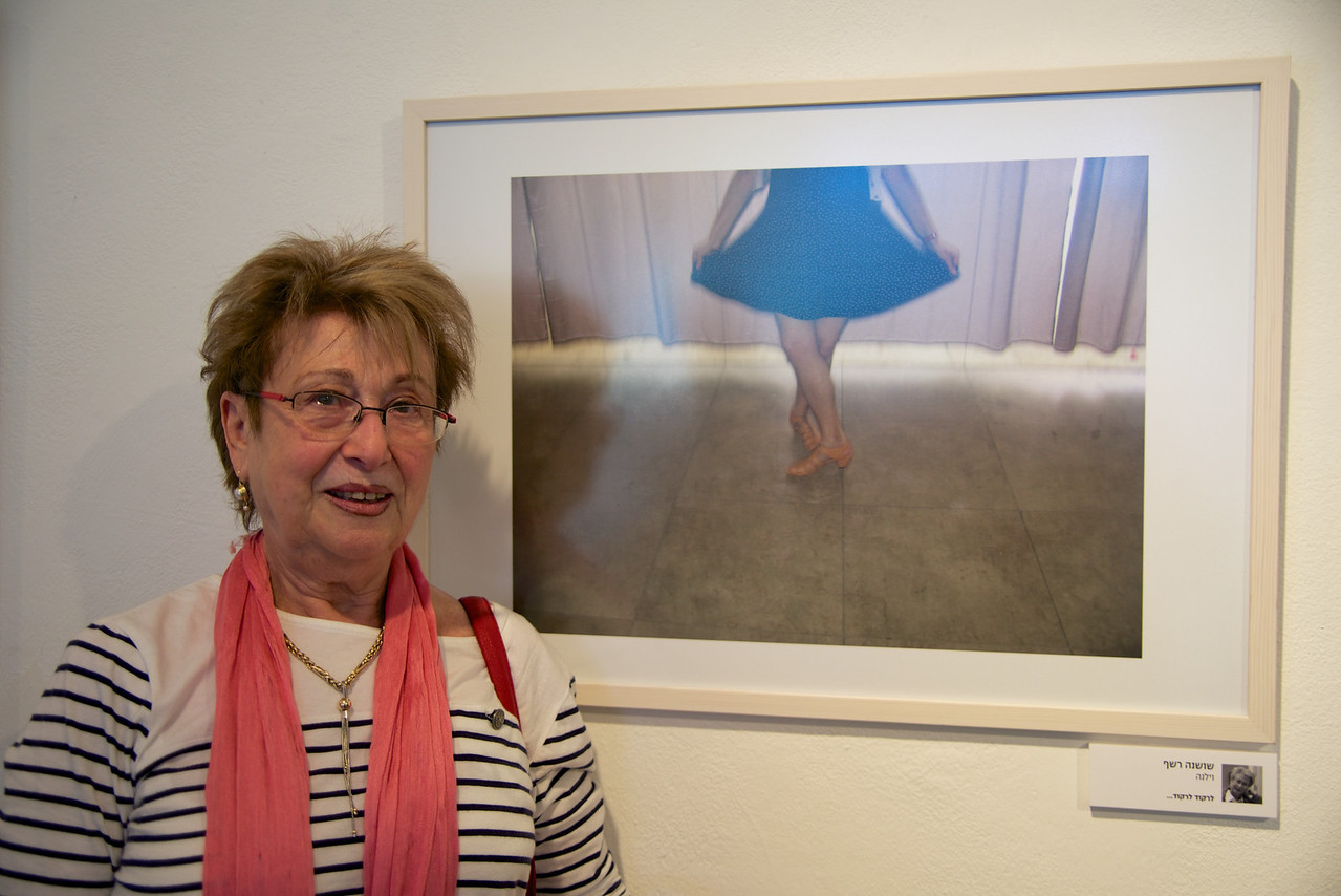 hrough the workshop, these survivors express their personal experiences and feelings, facing such topics as ageing, the Holocaust, family memories, love and life  Shoshana's Picture Reminded Her of A Picture of Herself As A Little Girl Dancing