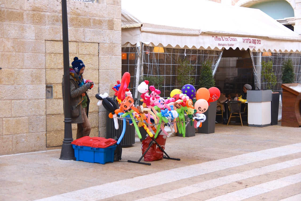 Slow Day at Mamilla Mall