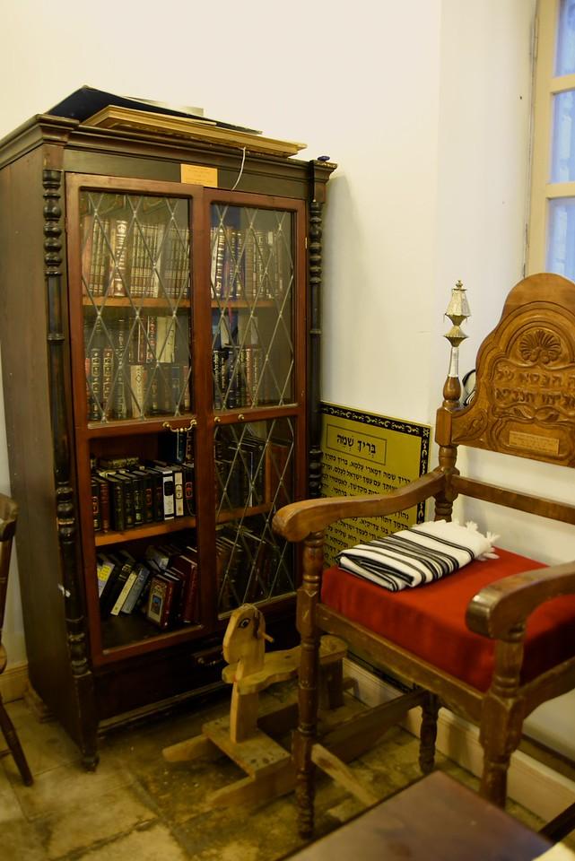 Inside Old Synagogue