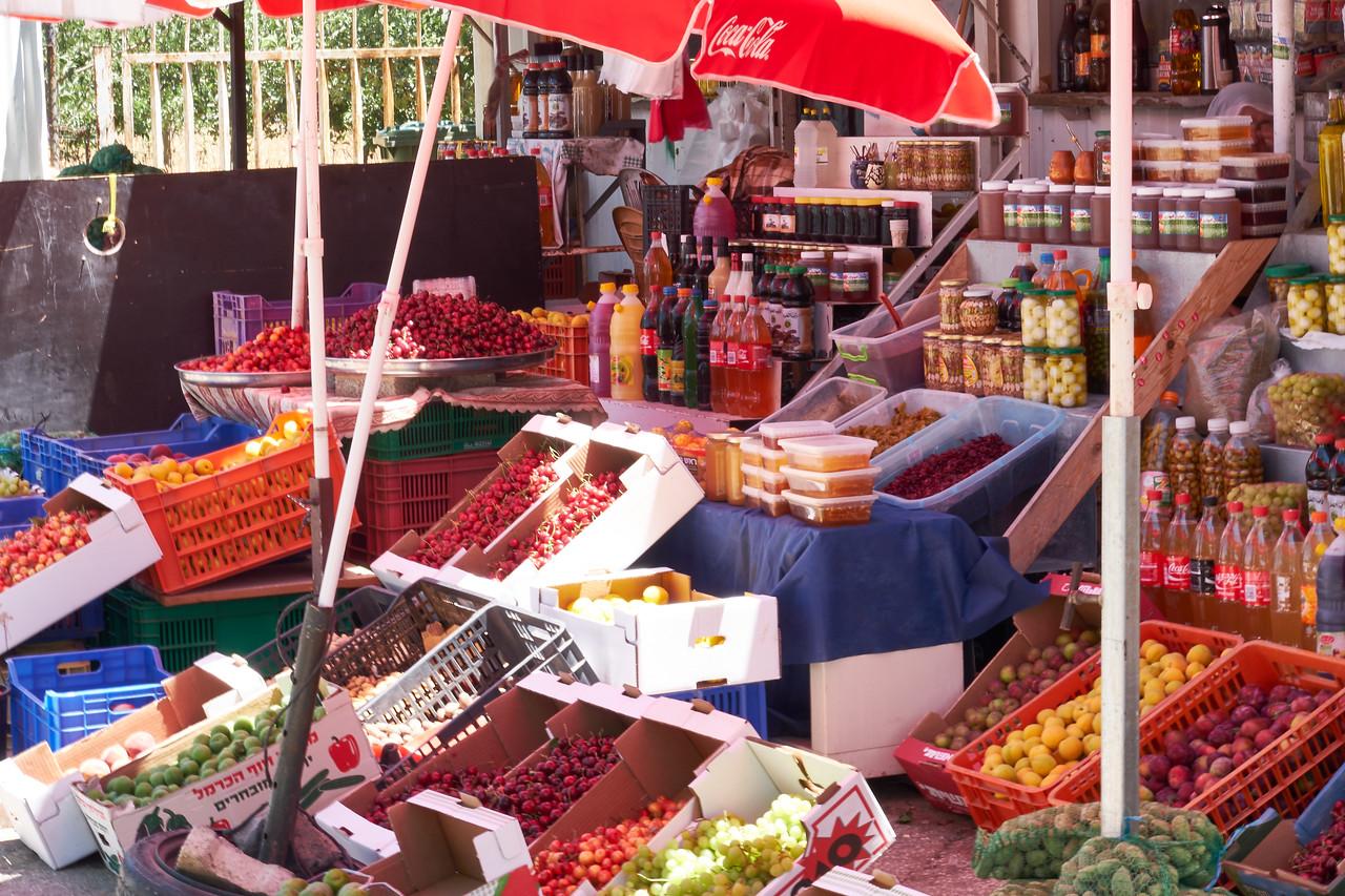 Druze market.