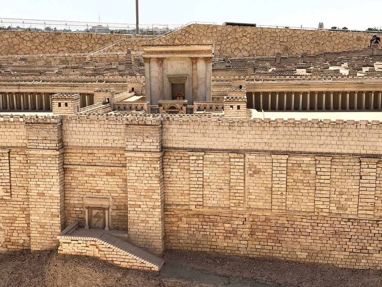 Second Temple destroyed in 70AD.
