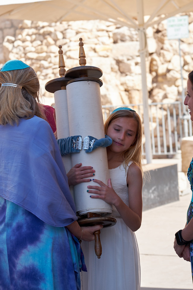 Samantha embraces Torah.