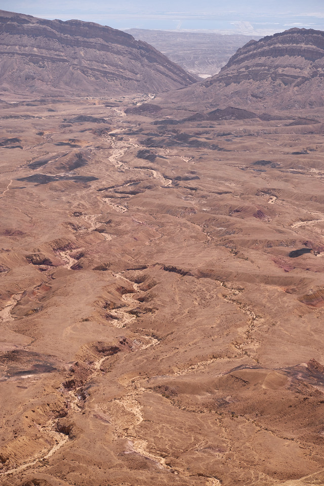 Small Makhtesh Crater.