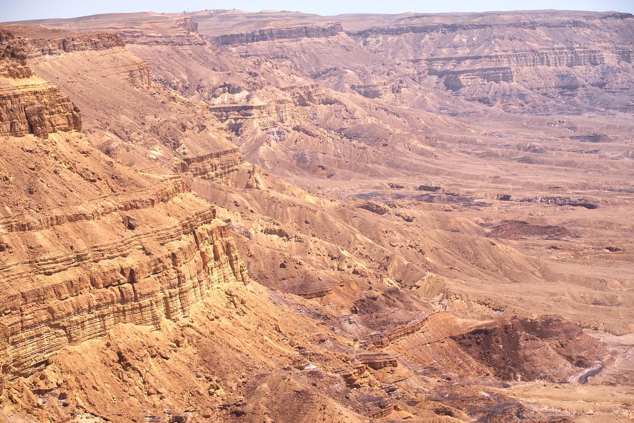 Walls of Small Makhtesh Crater.