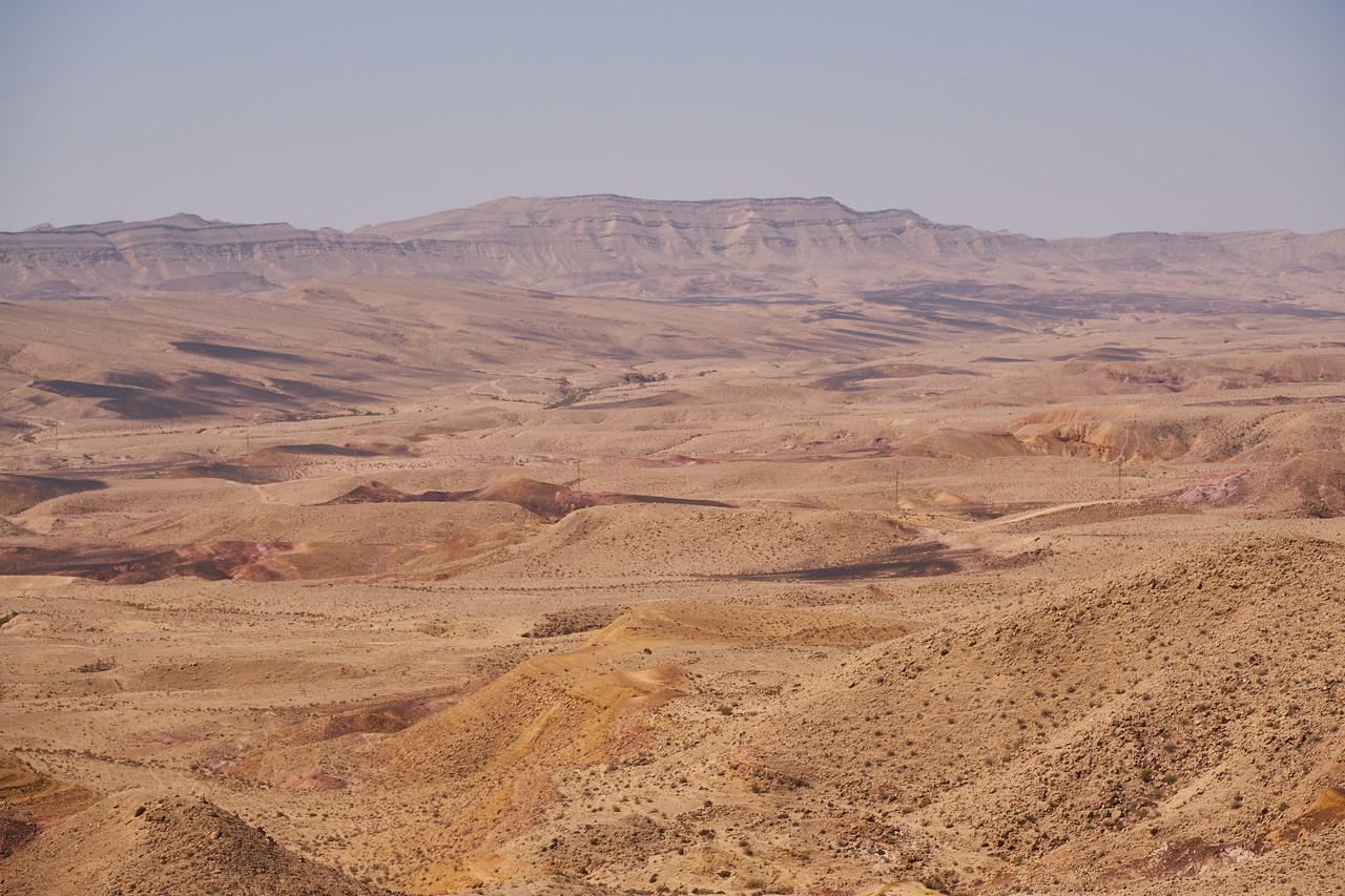 The Big Crater...Makhtesh... Yeroham Crater.