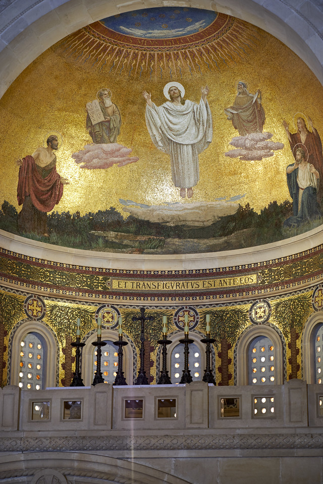 Upper portion of altar of Church of Transfiguration.