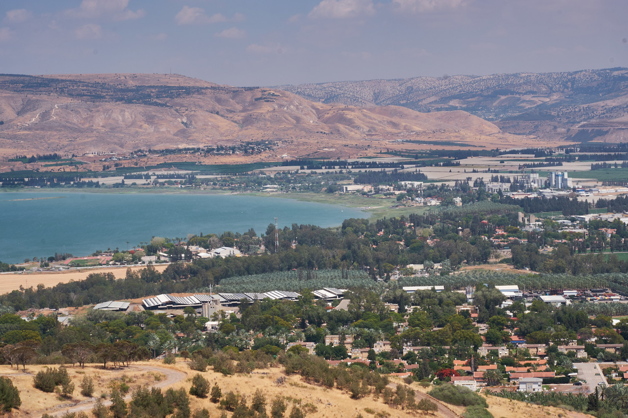Kinneret and Jordan Valley.