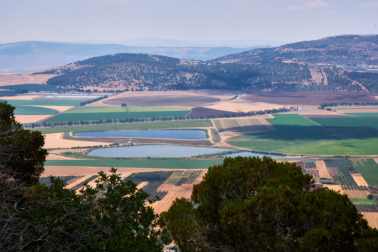 Jezreel Valley.