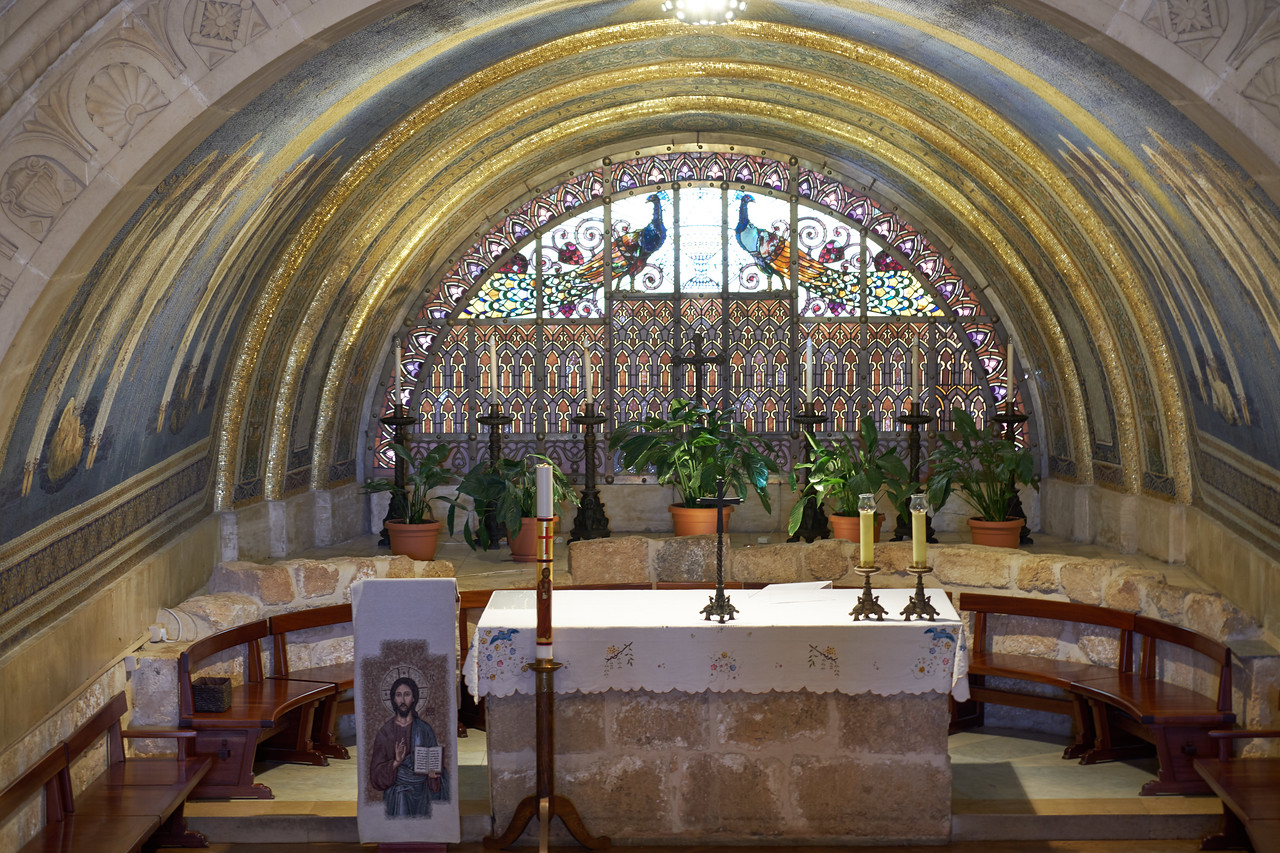 Altar of Chapel Church of Transfiguration.