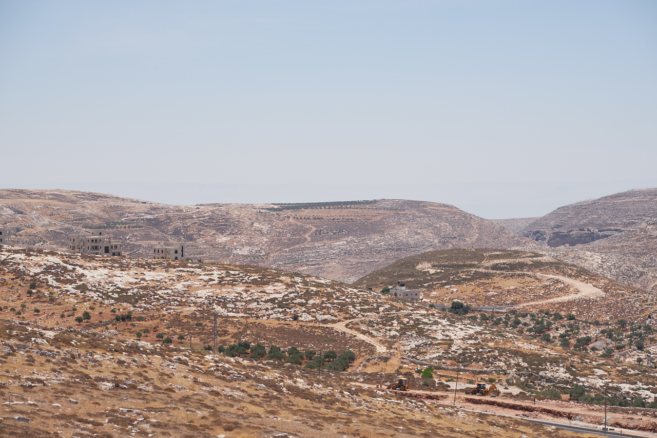 Binyamin Region seen from Psagot Winery.