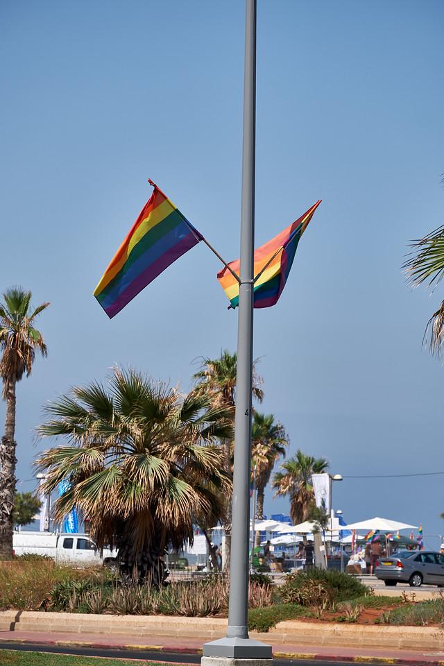 Pride Parade in Tel Aviv.