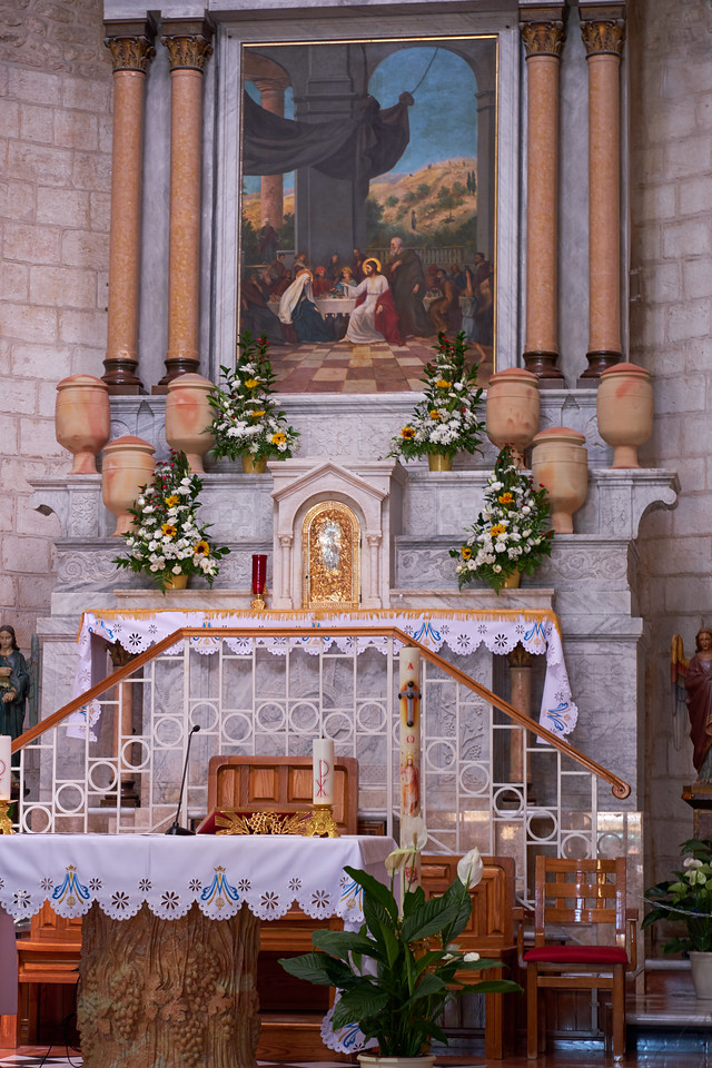 Altar of Wedding Church.